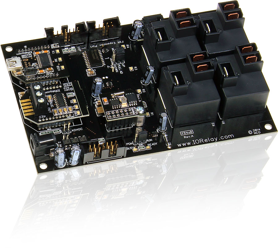 USB Fusion Relay - 4-Channel