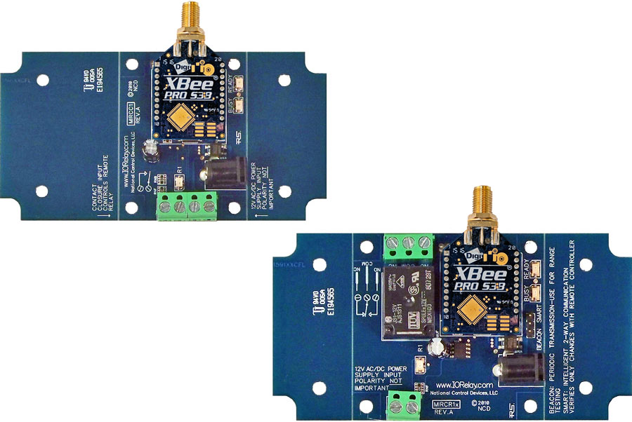 Wireless Contact Closure Relay - 1-Channel MirC