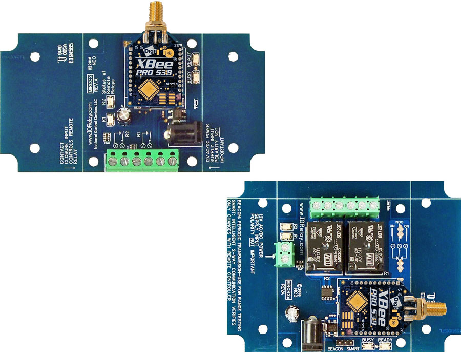 Wireless Contact Closure Relay - 2-Channel MirC
