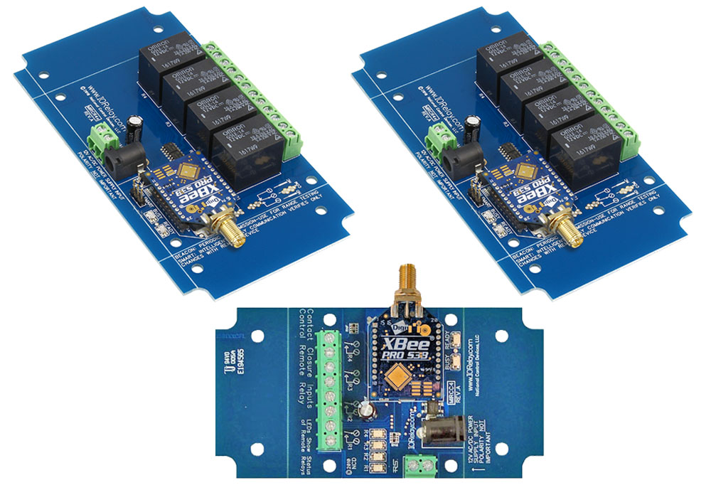 Contact Closure to Multi-Point Relay - 4-Channel MirM