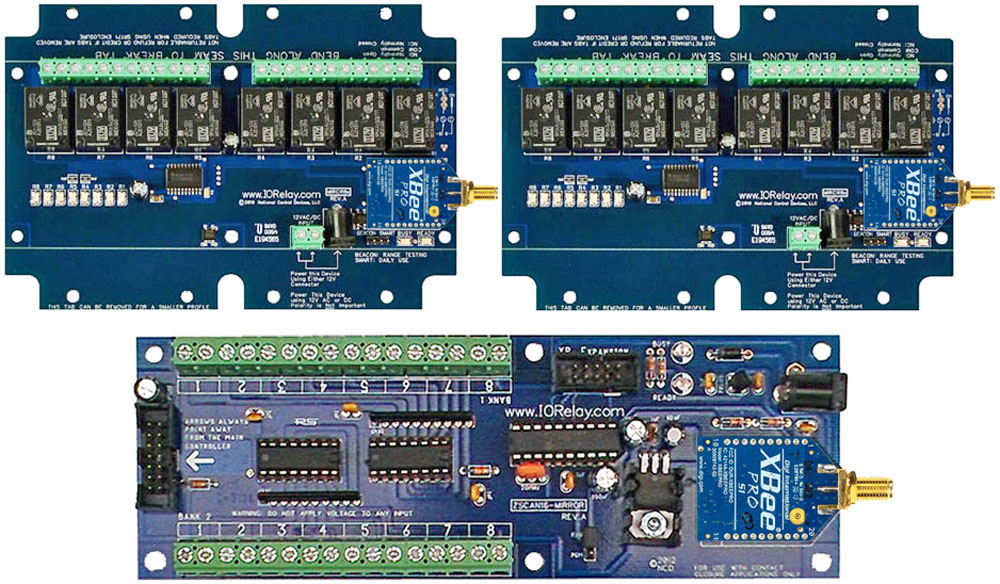 Point to Multi-Point Relay - 8-Channel MirM