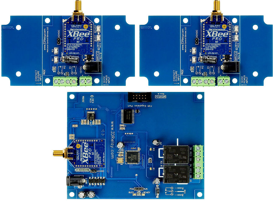 Multi-Point to Point Contact Closure Relay - 2-Channel