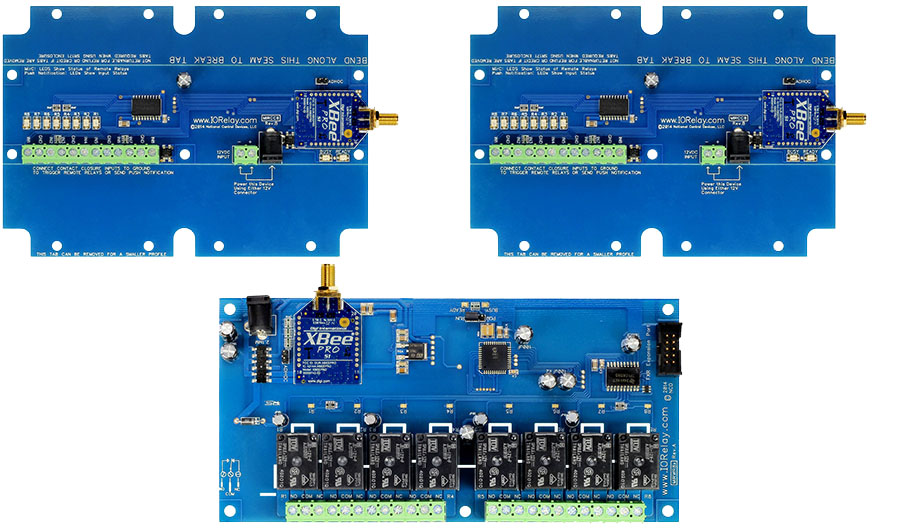 Multi-Point to Point Contact Closure Relay - 8-Channel