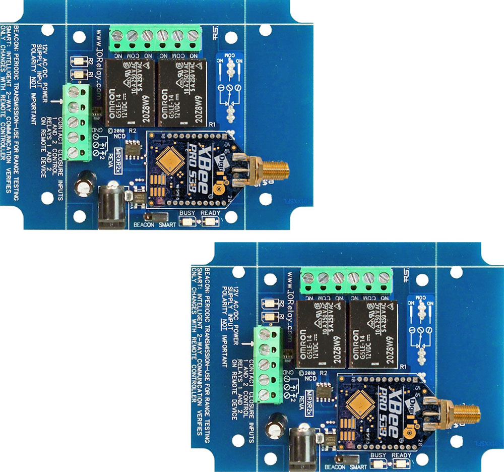 Contact Closure Relay - 2-Channel