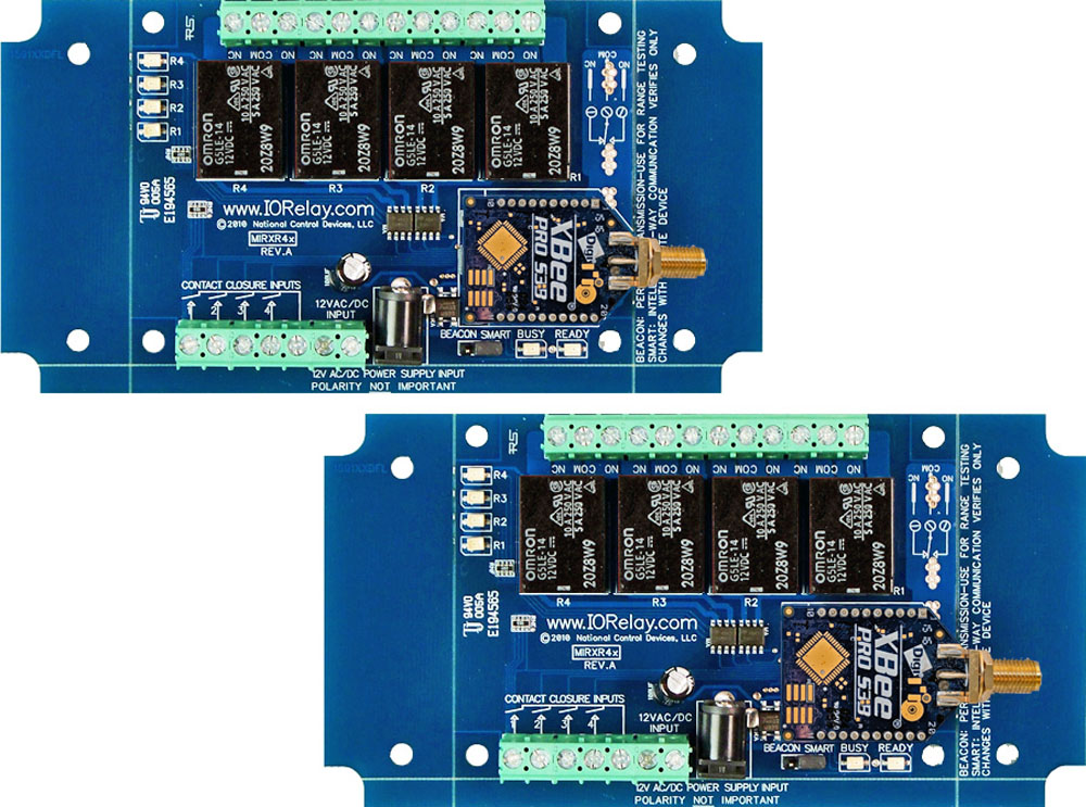 Wireless Contact Closure Relay - 4-Channel
