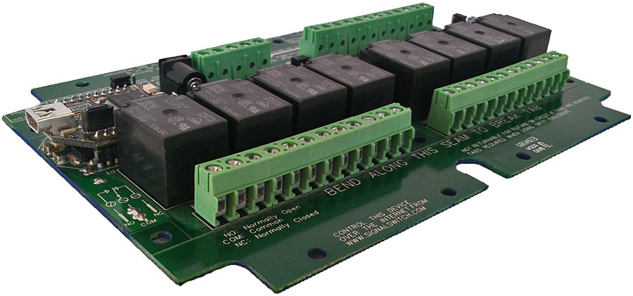 USB Relay Switch - 8-Channel