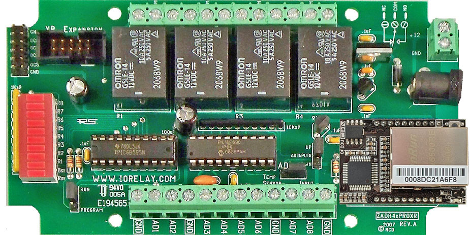 Ethernet Boards with UXP Port