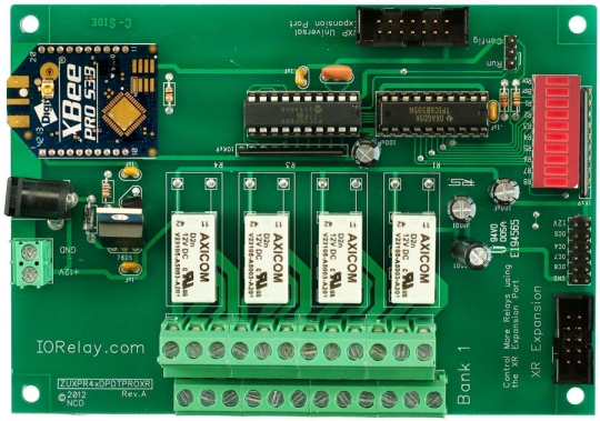 900 MHz Relay 4-Channel 1-Amp DPDT with UXP Port