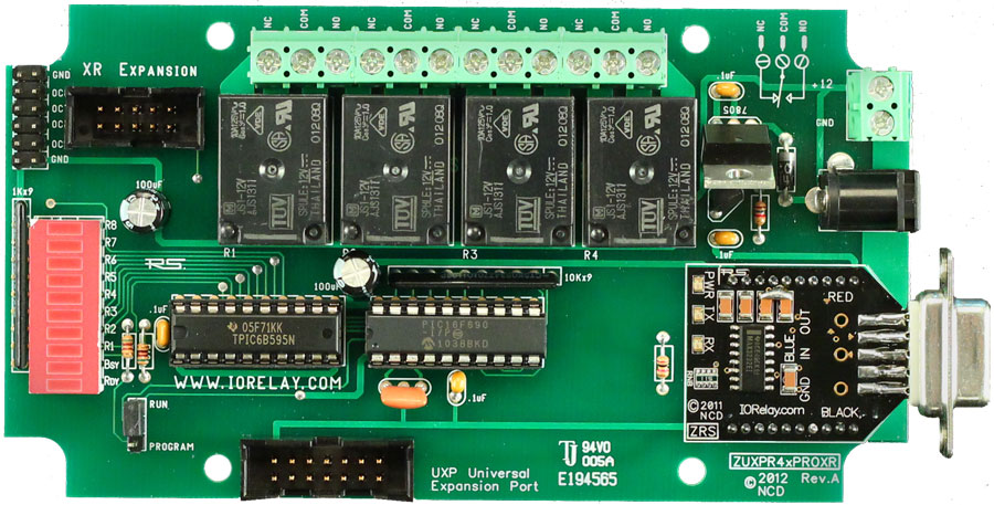 UXP Boards with Wired Interface