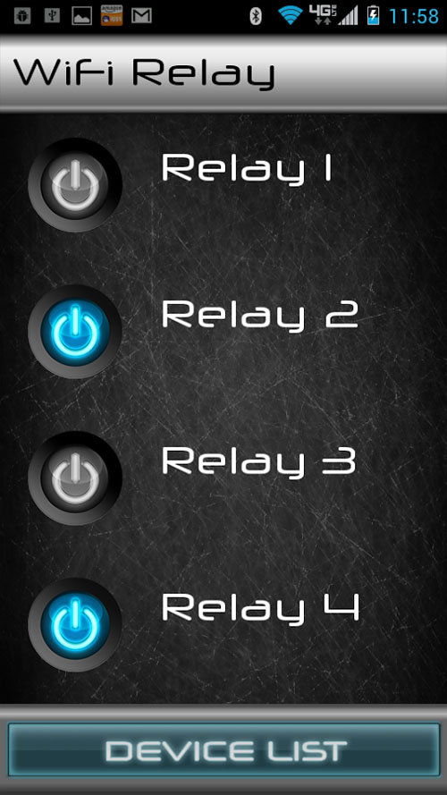 Android relay
