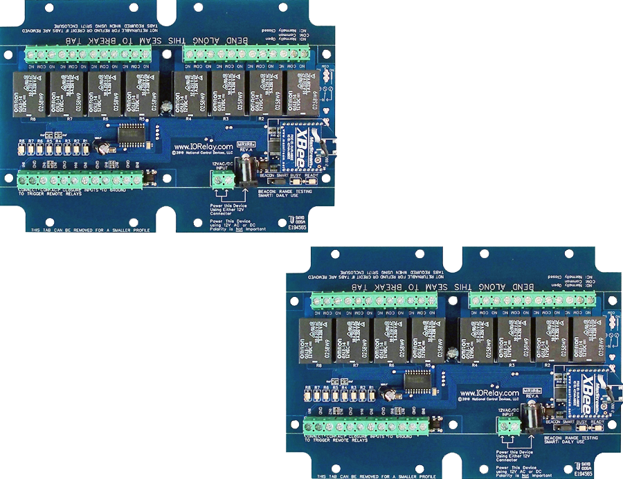 Wireless Contact Closure Relay - 8-Channel