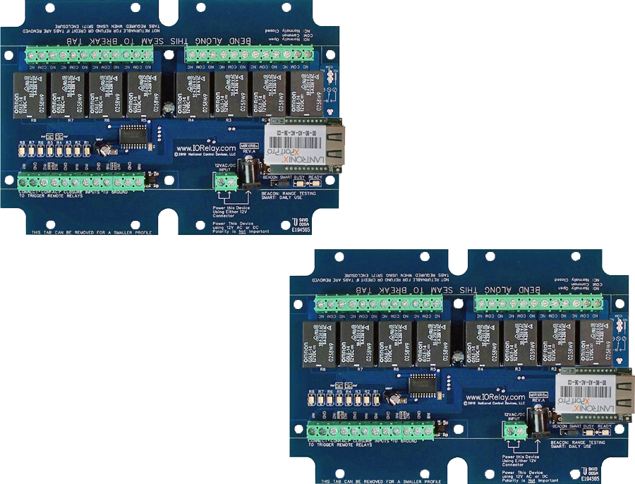Contact Closure Relay - 8-Channel
