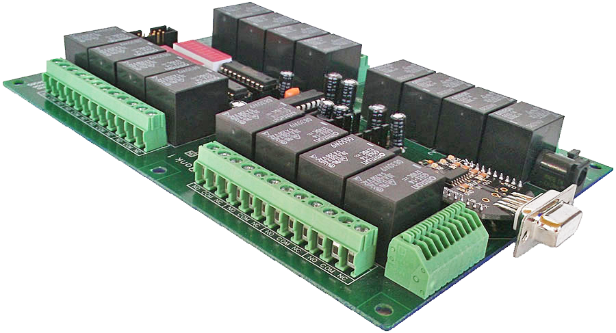 Serial Controlled Relay