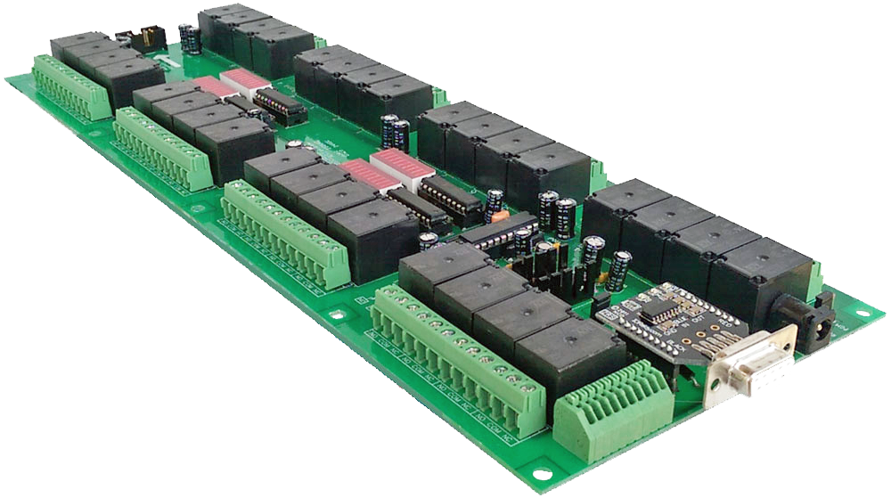 RS232 Relay Switch - 32-Channel