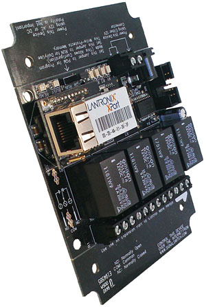Clock Relay 4-Channel with Ethernet Interface