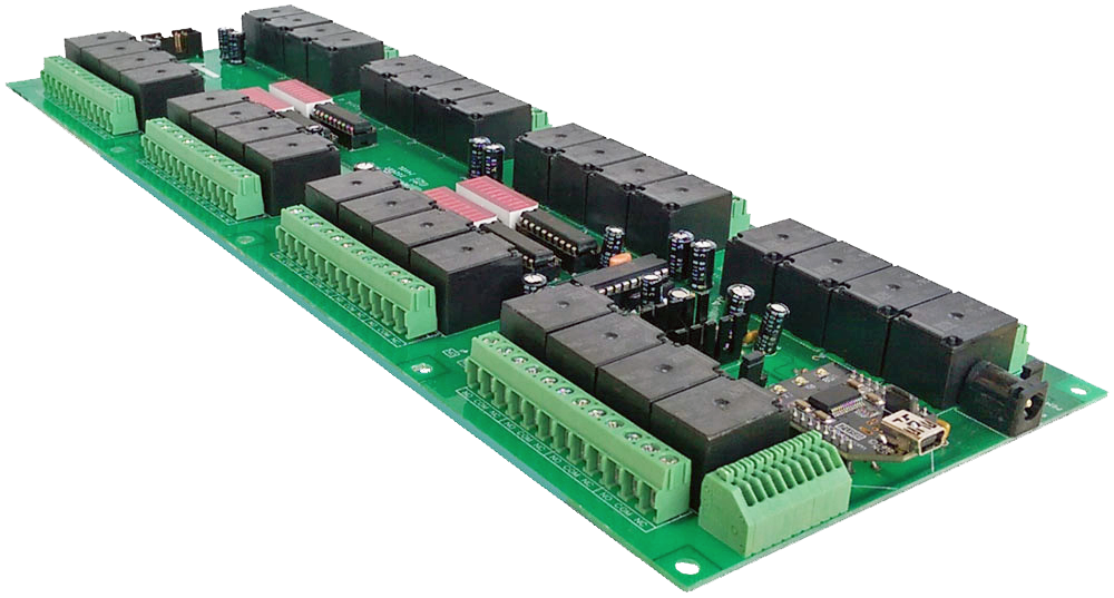 USB Controlled Relay - 32 Channel