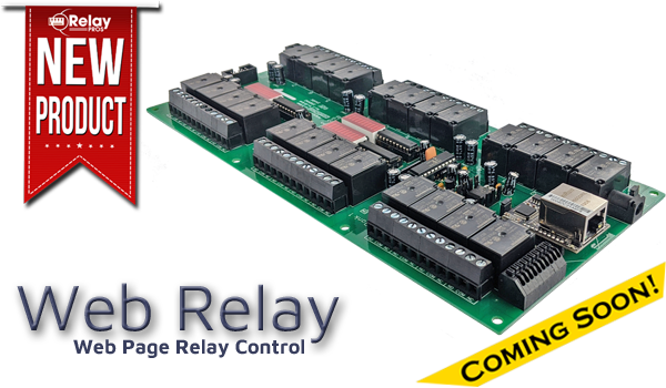 Web Relay Board