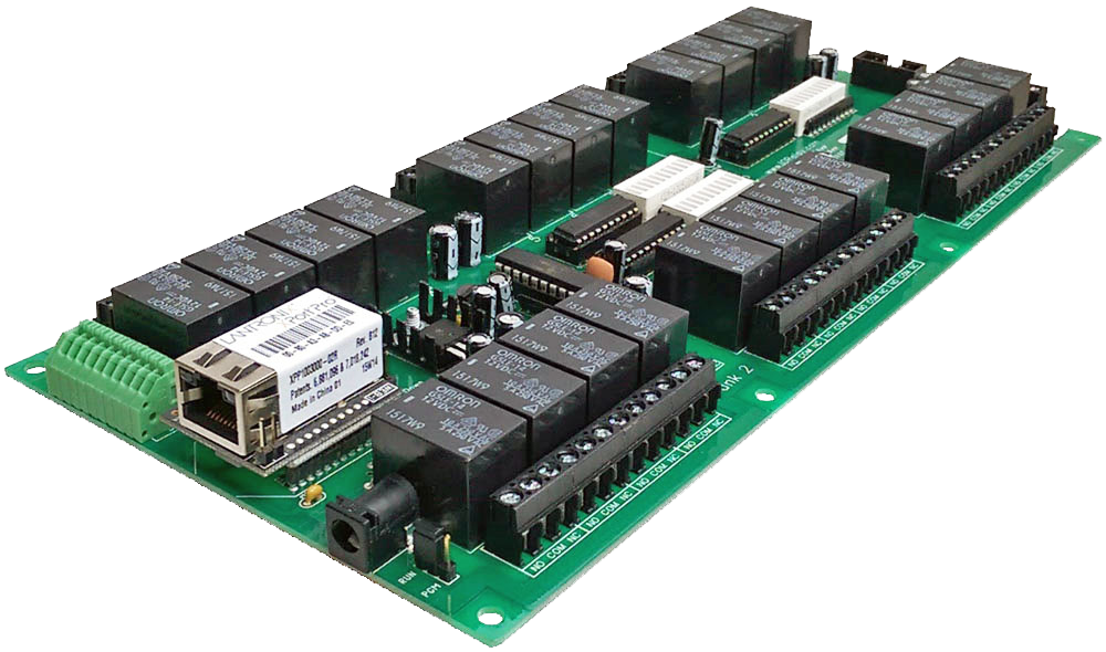 Web Relay Board - 24-Channel